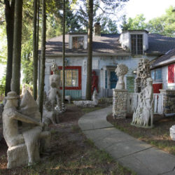 Mary Nohl, artists home