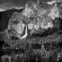 Bridalveil Fall, Yosemite 1958