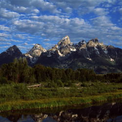 Tetons at Sunrise, 2012