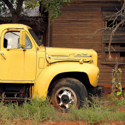 Yellow Truck, Cuervo NM 1999
