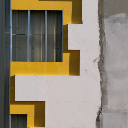 Construction yellow abstract