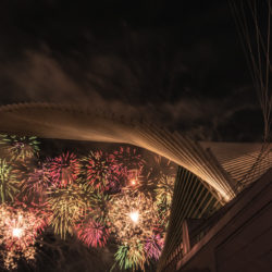 Fireworks at the Calatrava
