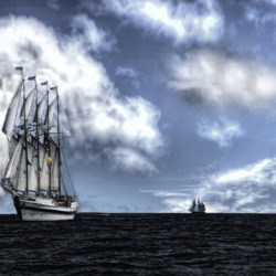the tall ships sail into door county