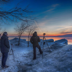 Shooting a winter sunrise