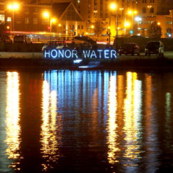 Honor Water. Milwaukee River. 2016.