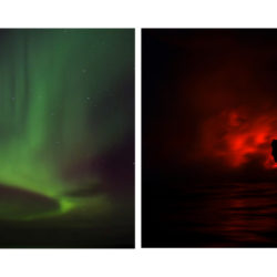 Iceland / Hawaii Diptych I (Comparison of geological hotspots)