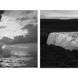 Iceland / Hawaii Diptych II (Comparison of geological hotspots)
