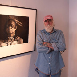 Robert Osborn in his gallery in Livingston, Montana