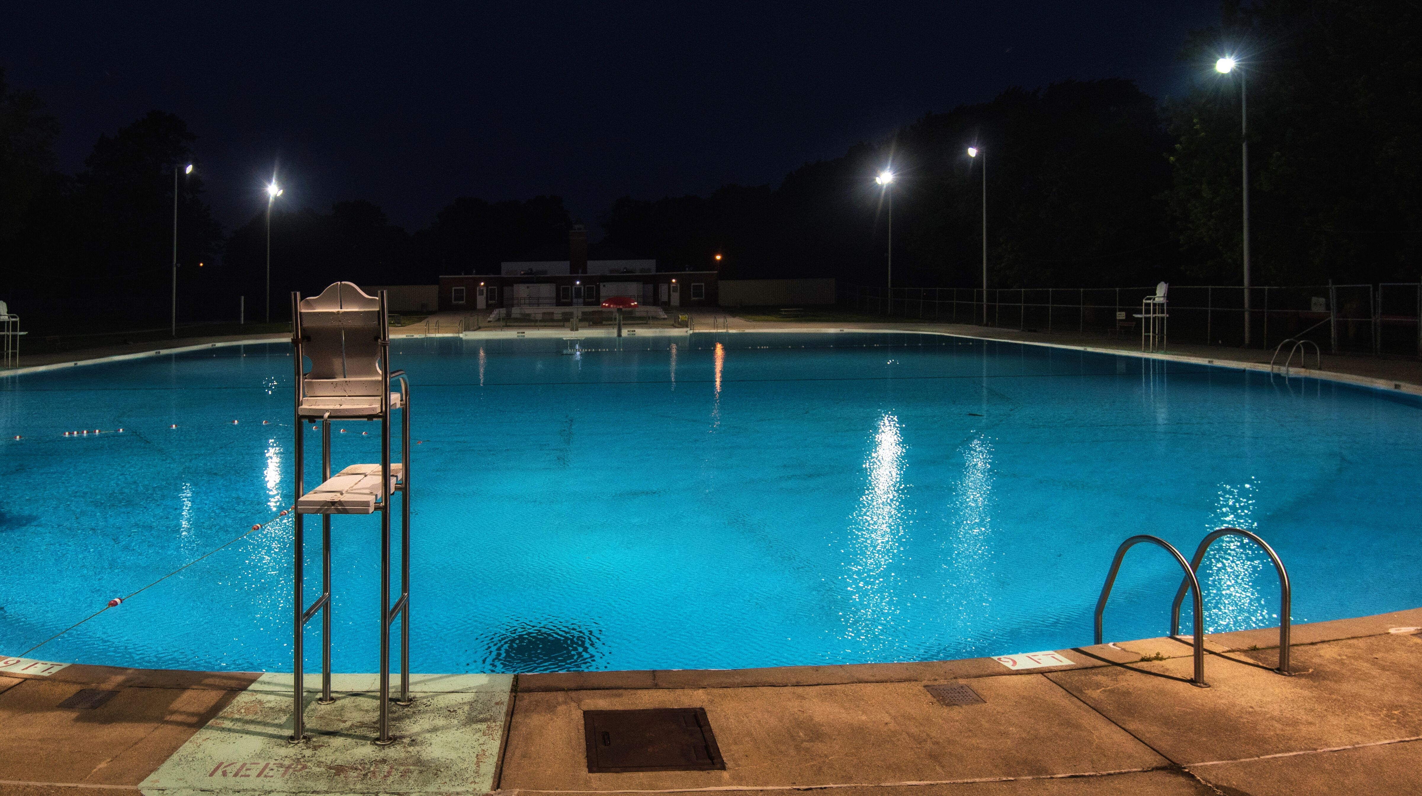 Timothy Holte - Pool at Night