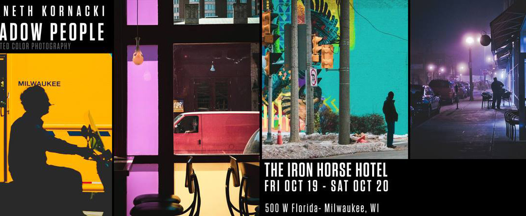 Kenneth Kornacki at the Iron Horse Hotel