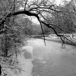 Menomonee River Ice