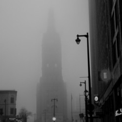 Milwaukee City Hall in Fog