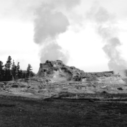 Sulphur Venting – Yellowstone National Park