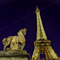 Ah, Paris at Night