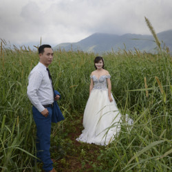Shared Memory-Wedding Couple in Khe Sanh Valley