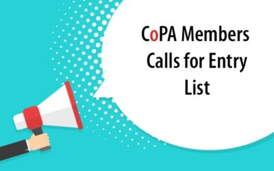 CoPA Members 2021 Call for Entry List