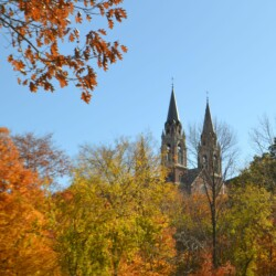 Towers in Fall
